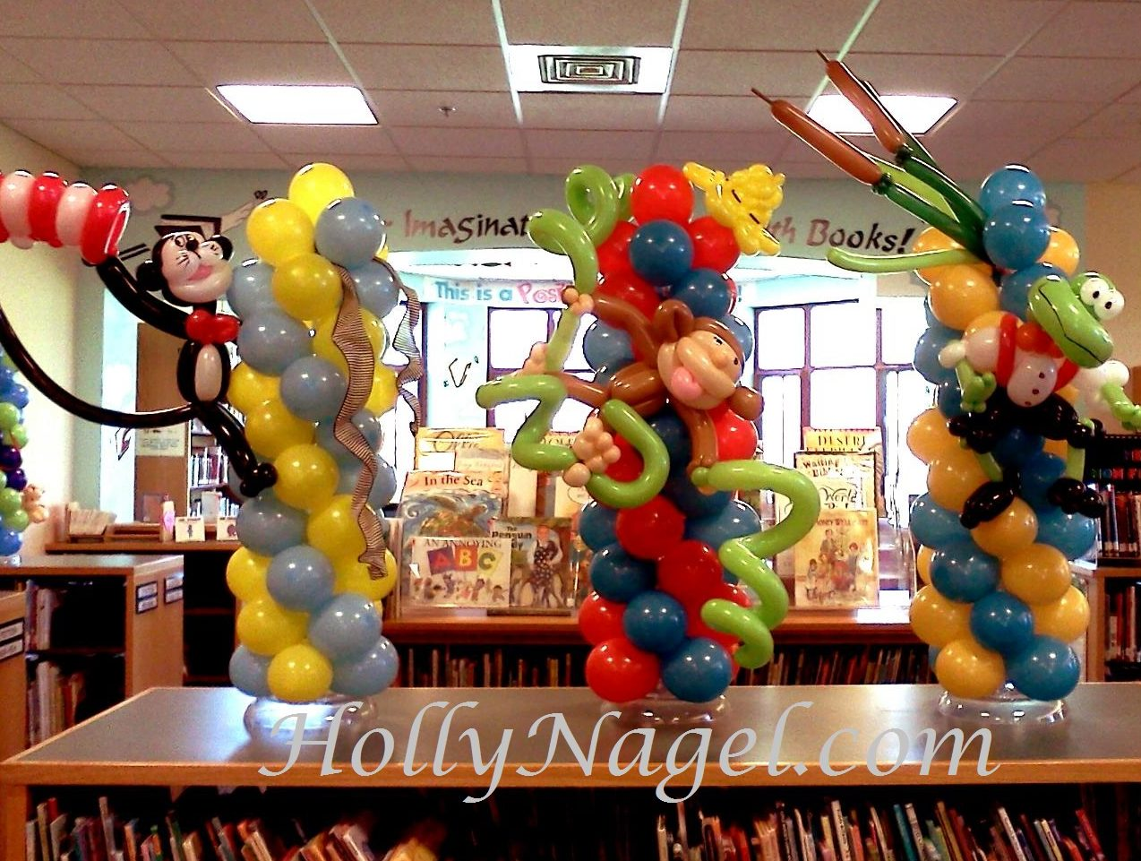 Storybook Character Tabletoppers
