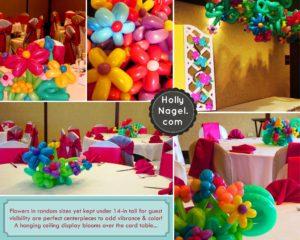 Simple balloon flower elegance & whimsy!