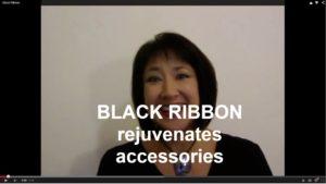 Black Ribbon Rejuvenates Accessories