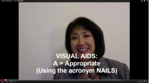 Visual Aids: NAILS, A=Appropriate
