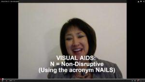 Visual Aids: N=Non-Disruptive