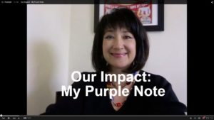 Our Impact - My Purple Note