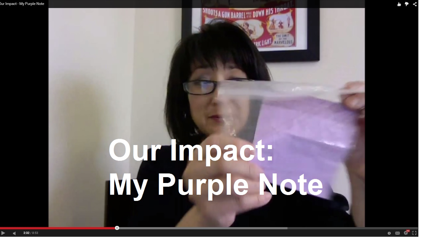 Our Impact: My Purple Note