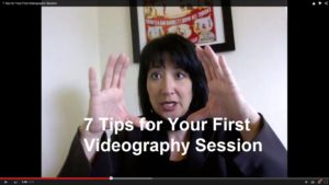 7 Tips for your first videography session
