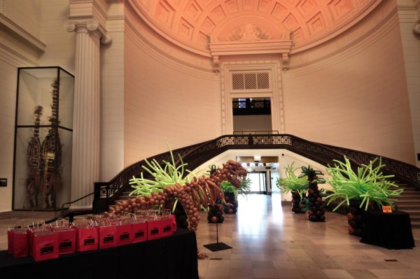 Corporate Event Decor- Field Museum