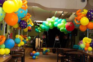Corporate Event Balloon Decor